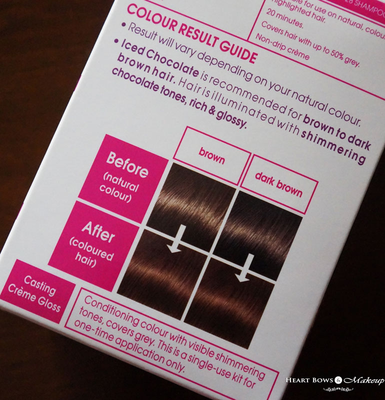 How To Color Hair: L'Oreal Casting Creme Gloss Iced Chocolate Review