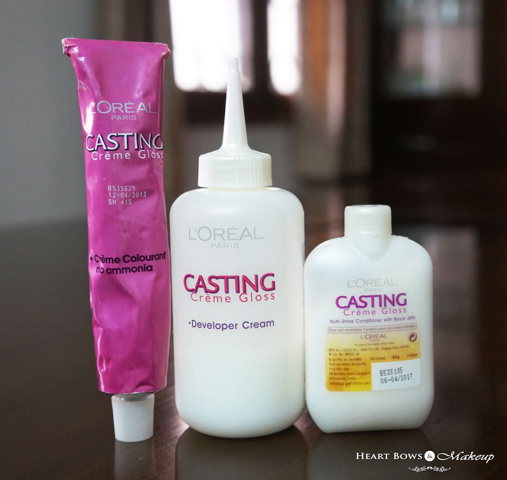L'Oreal Casting Creme Gloss Iced Chocolate Review & Price India