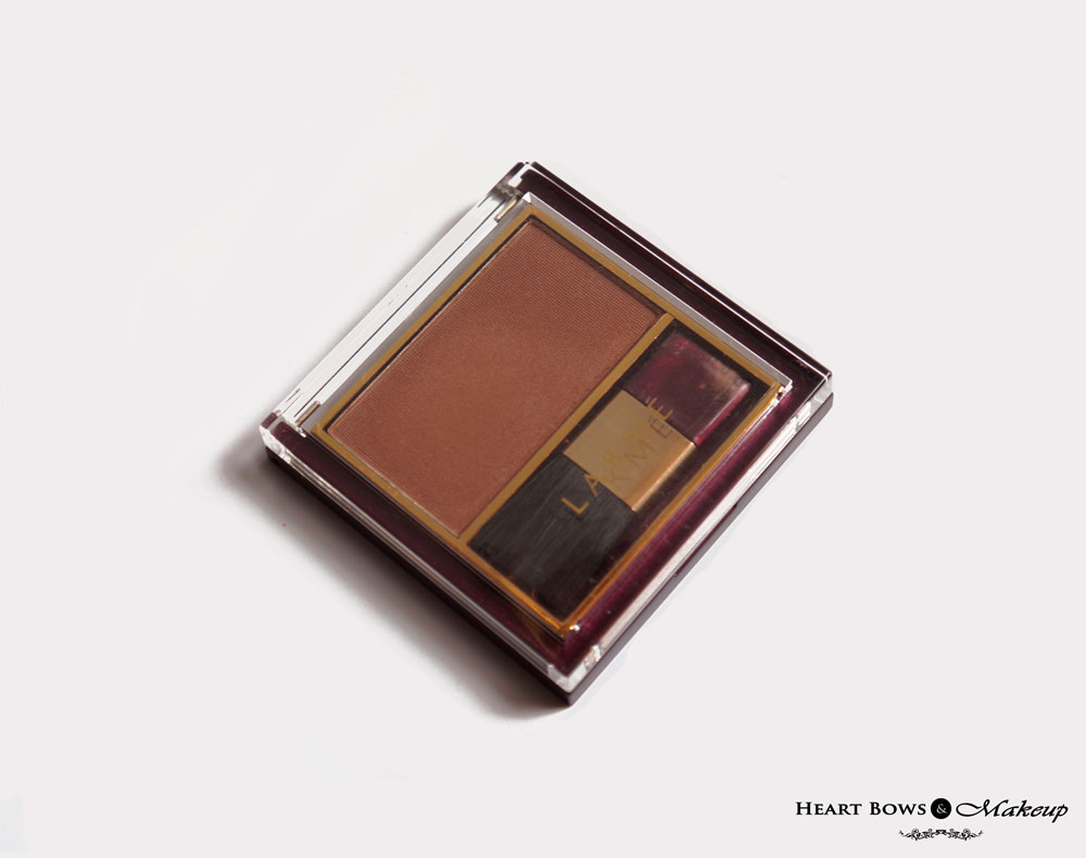 Lakme Pure Rouge Blusher Honey Bunch Review, Swatches & Price