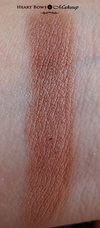 Lakme Pure Rouge Blush Honey Bunch Swatches & Review