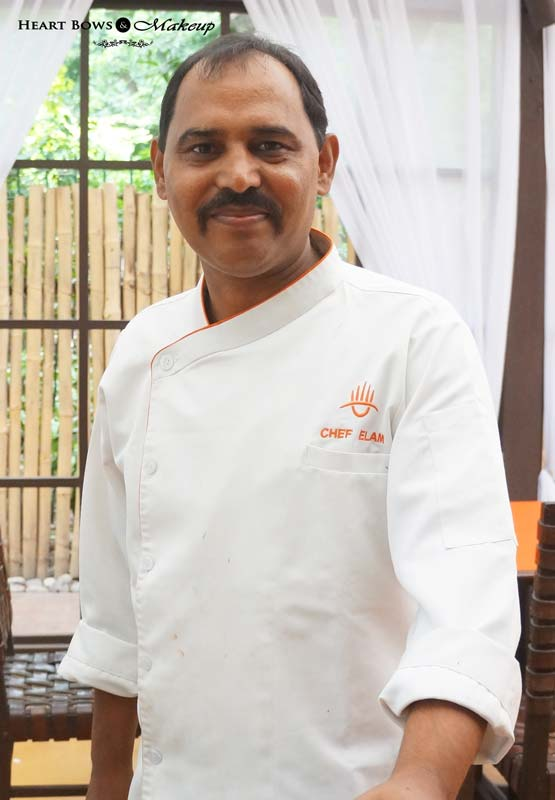 Lodi- The Garden Restaurant Executive Chef- Elam Singh Rana