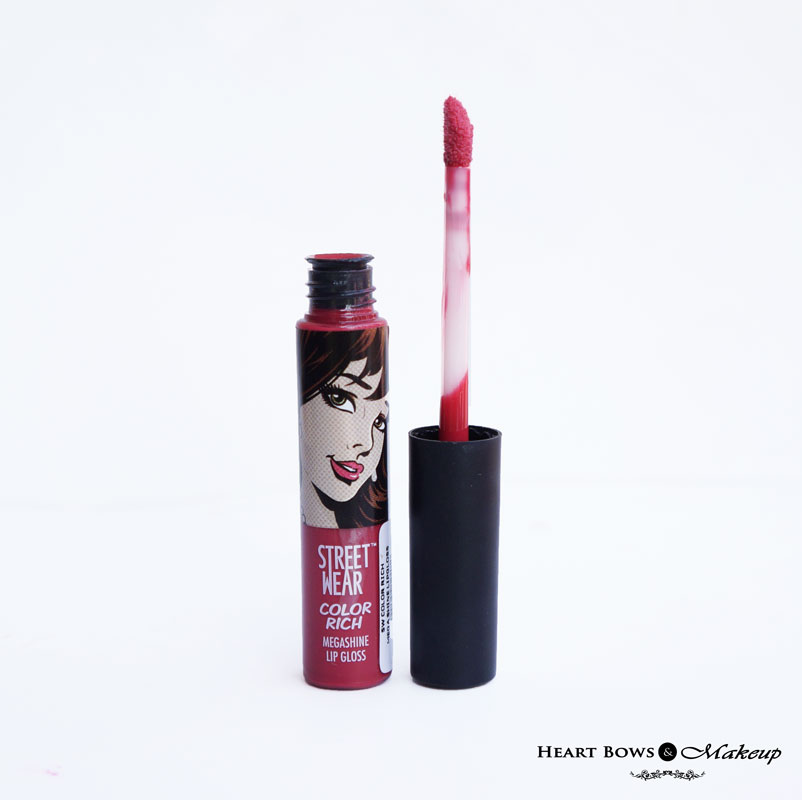 Street Wear Color Rich Megashine Lipgloss Party Melon Review, Swatches & Price