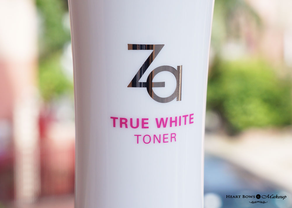 ZA True White Toner Review & Price