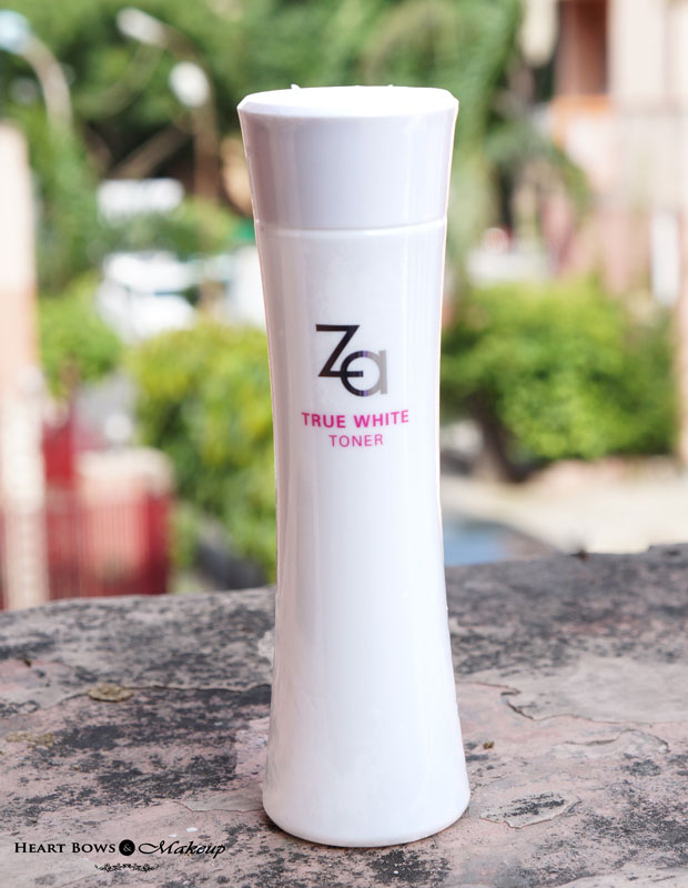 ZA True White Toner Review, Price & Buy Online in India