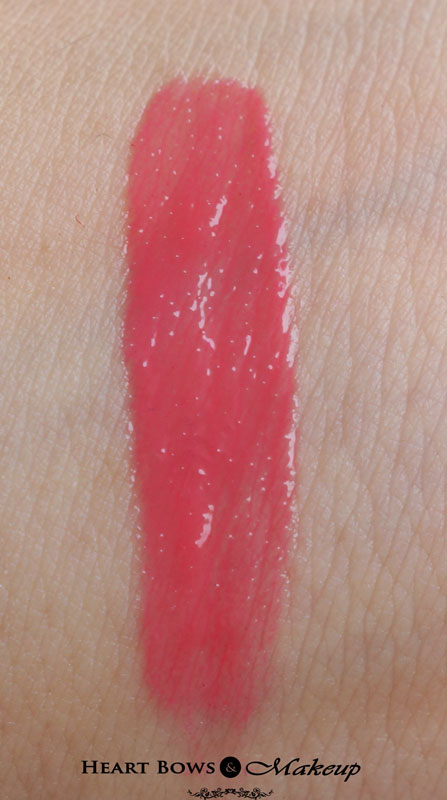 elf Glossy Lipgloss Wild Watermelon Review & Swatches