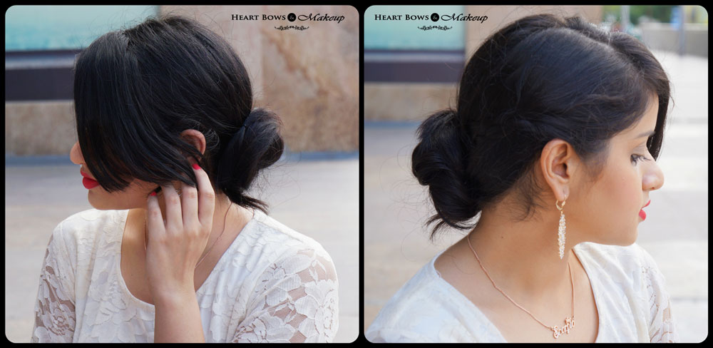 Indian Makeup & Beauty Blog: Sophisticated and Classy Bun Hairdo