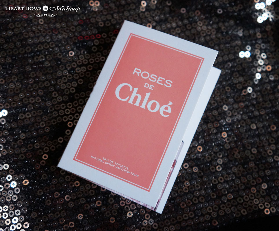 September My Envy Box Review: Roses De Chloe Perfume