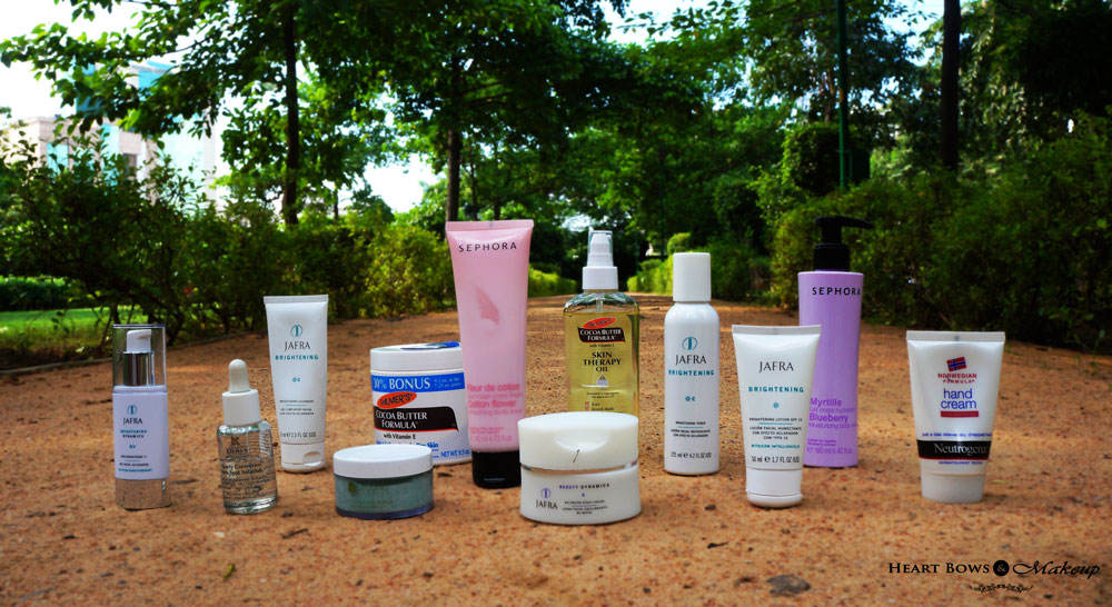 Best Skincare Products For Fairer & Even Skintone!