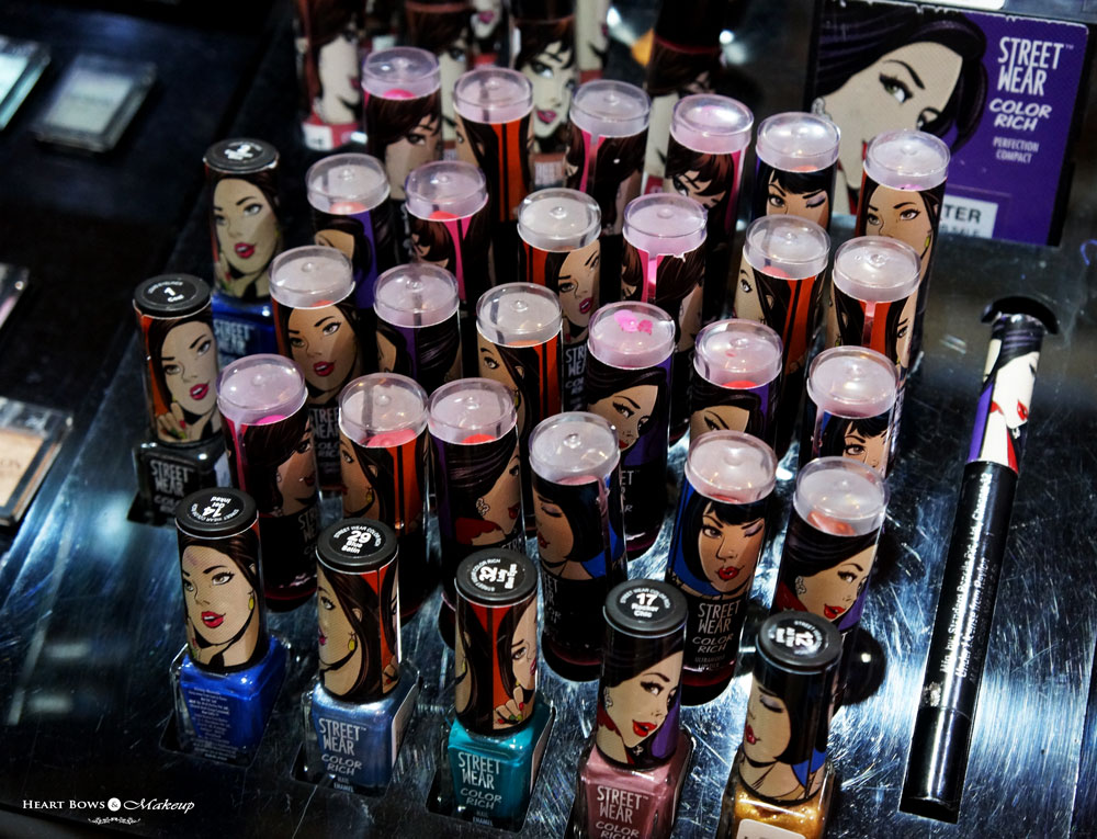 Street Wear Color Rich Lipstick Swatches, Price & Buy Online