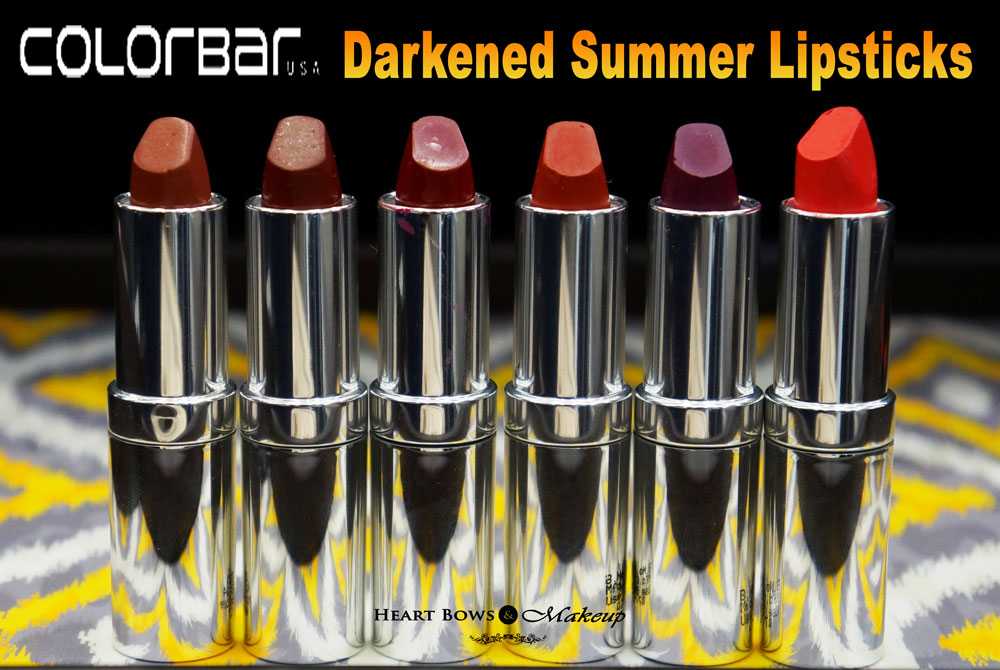 Colorbar Darkened Summer Lipstick Review, Swatches, Price & Buy Online India