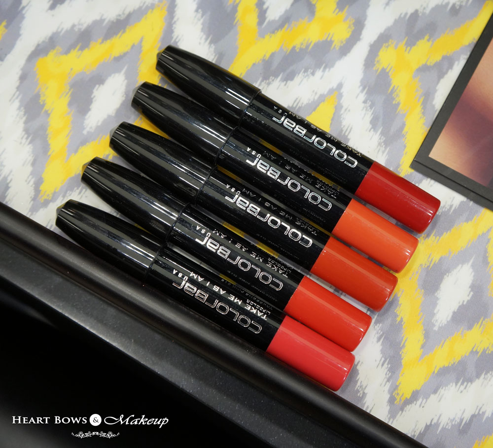 New Colorbar Take Me As I Am Lip Crayon Swatches, Review, Price & Buy Online India