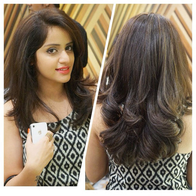 Hair Coloring Experience At Geetanjali Salon Select City