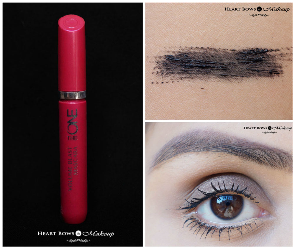Oriflame The One Volume Blast Mascara Review, Price, EOTD & Buy Online India