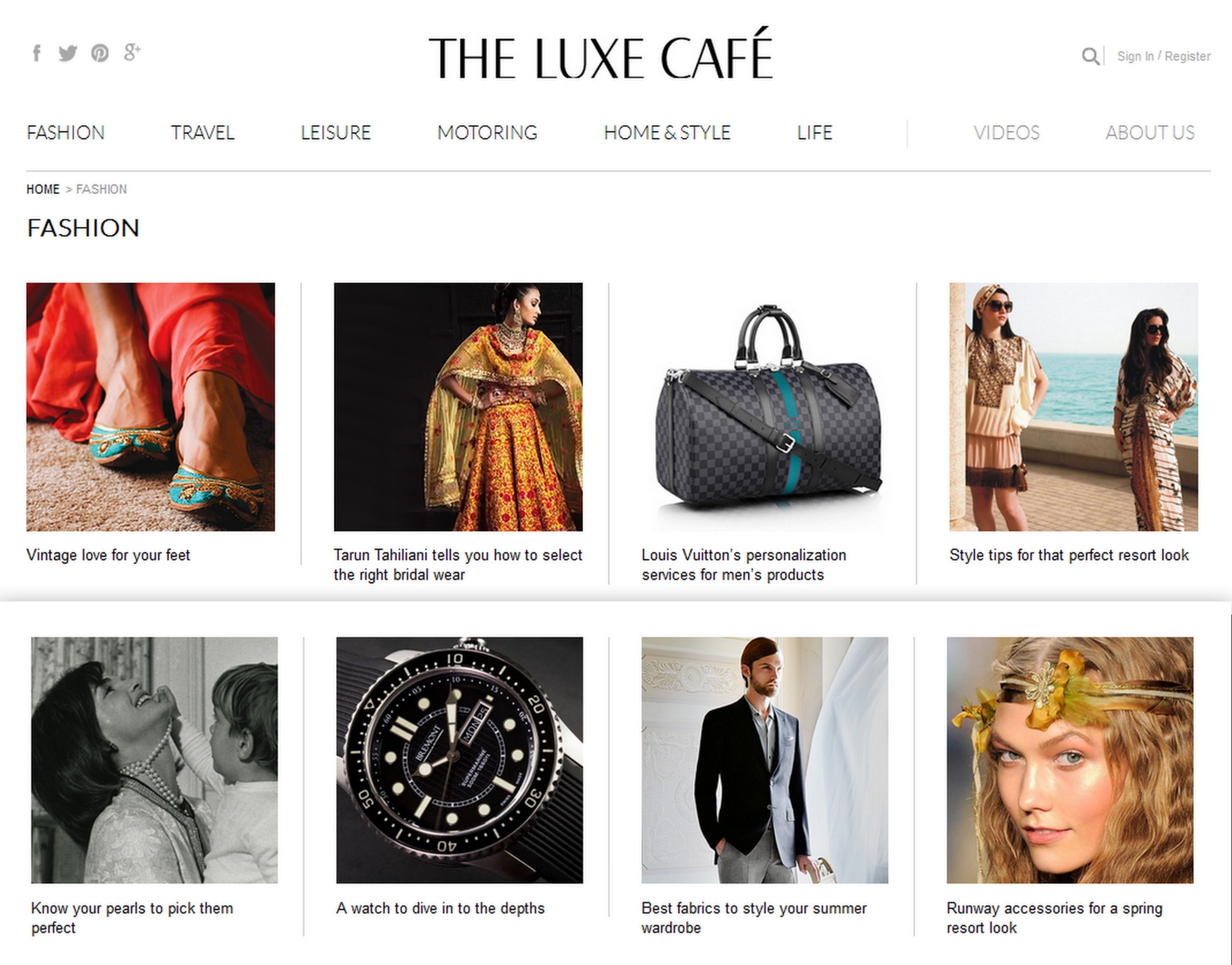 The luxe cafe- bringing luxury
