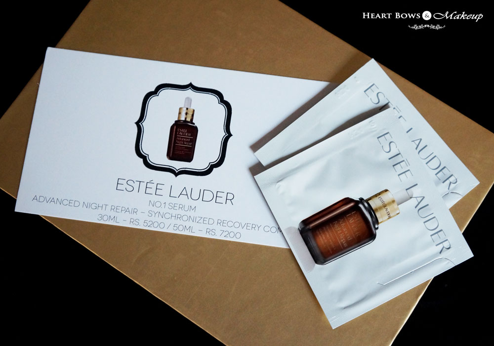 October Envy Box Review & Products: Estee Lauder No. 1 Serum Advanced Night Repair