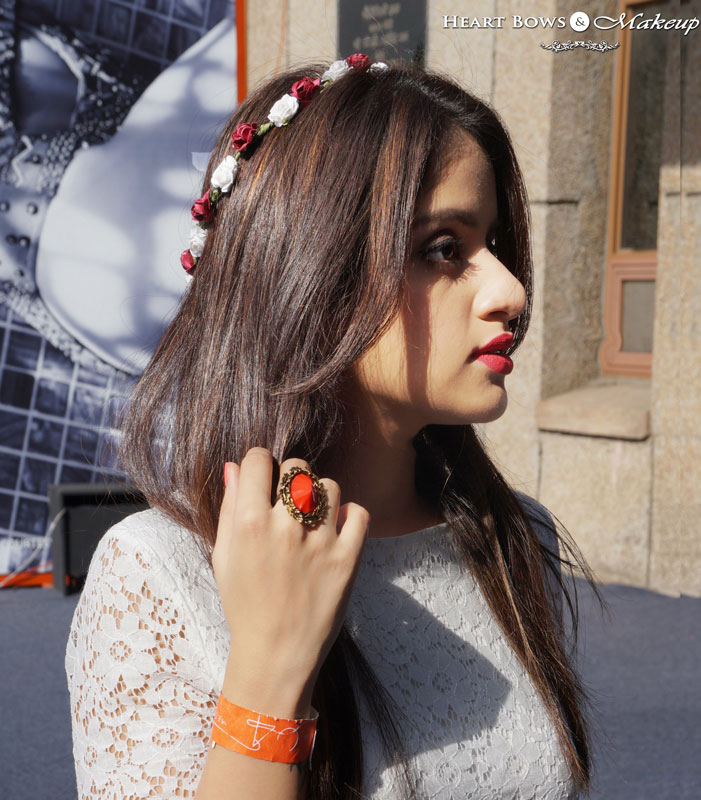 Indian Makeup & Beauty Blog: How to Wear a Floral Crown