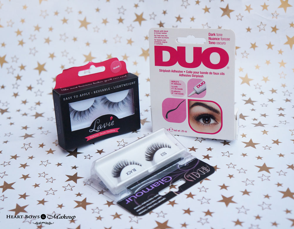 Luxola.com Website Review & Haul: Duo Lash Adhesive, Ardell Fashion Lash & Lavie Lash Wildflower Collection