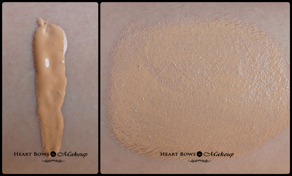 MAC Pro Longwear Foundation NC 30 Swatches on Indian Skin & Review