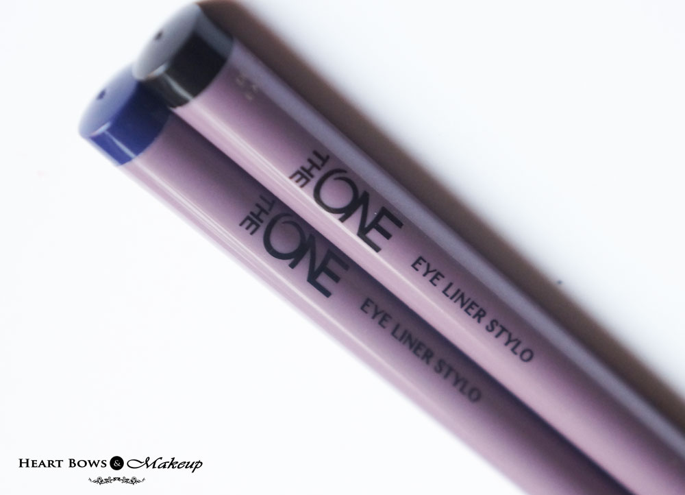 Oriflame Eyliner Stylo Black & Blue Review & Swatches