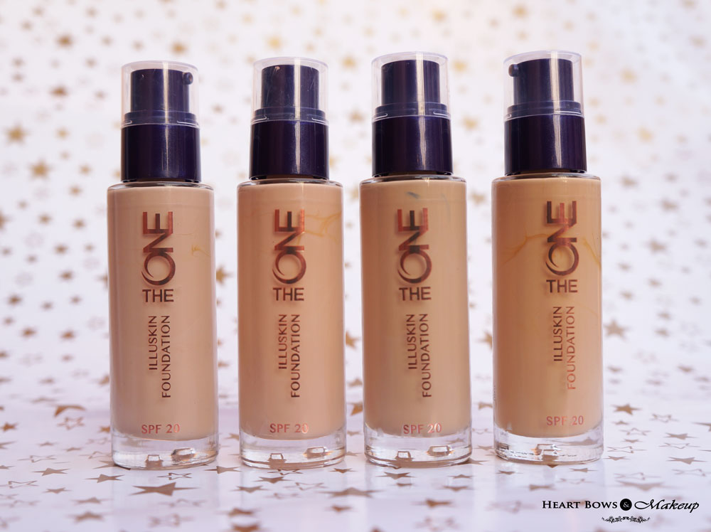 Oriflame The ONE IlluSkin Foundation Review, Swatches, Price & Buy Online India