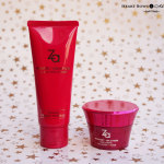 ZA Perfect Solution Cleansing Foam & Restoring Collagen Cream Review & Price