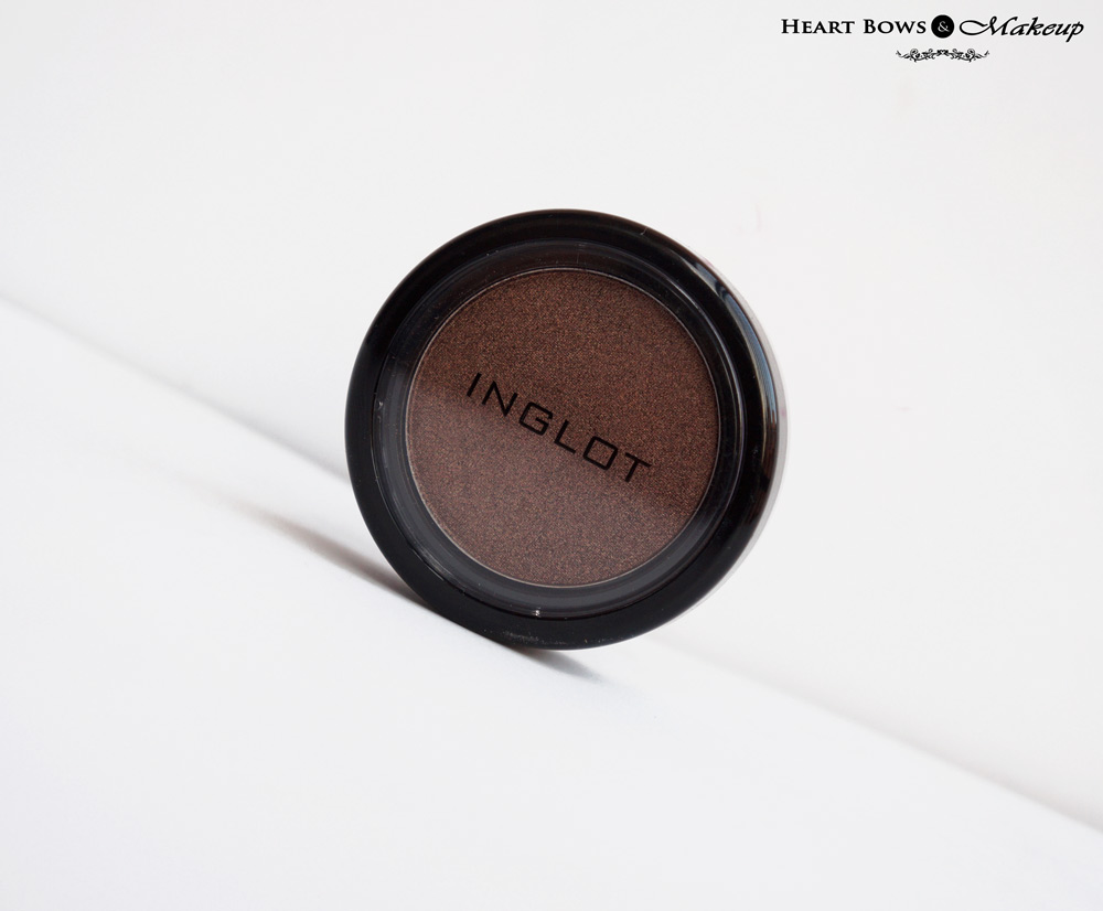 Inglot Eyeshadow 422 Pearl Review, Swatches & Price India