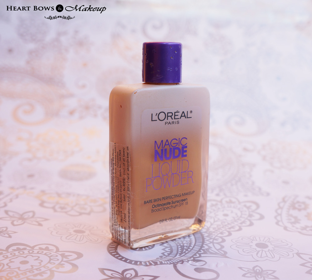 L'Oreal Magic Nude Liquid Foundation Review
