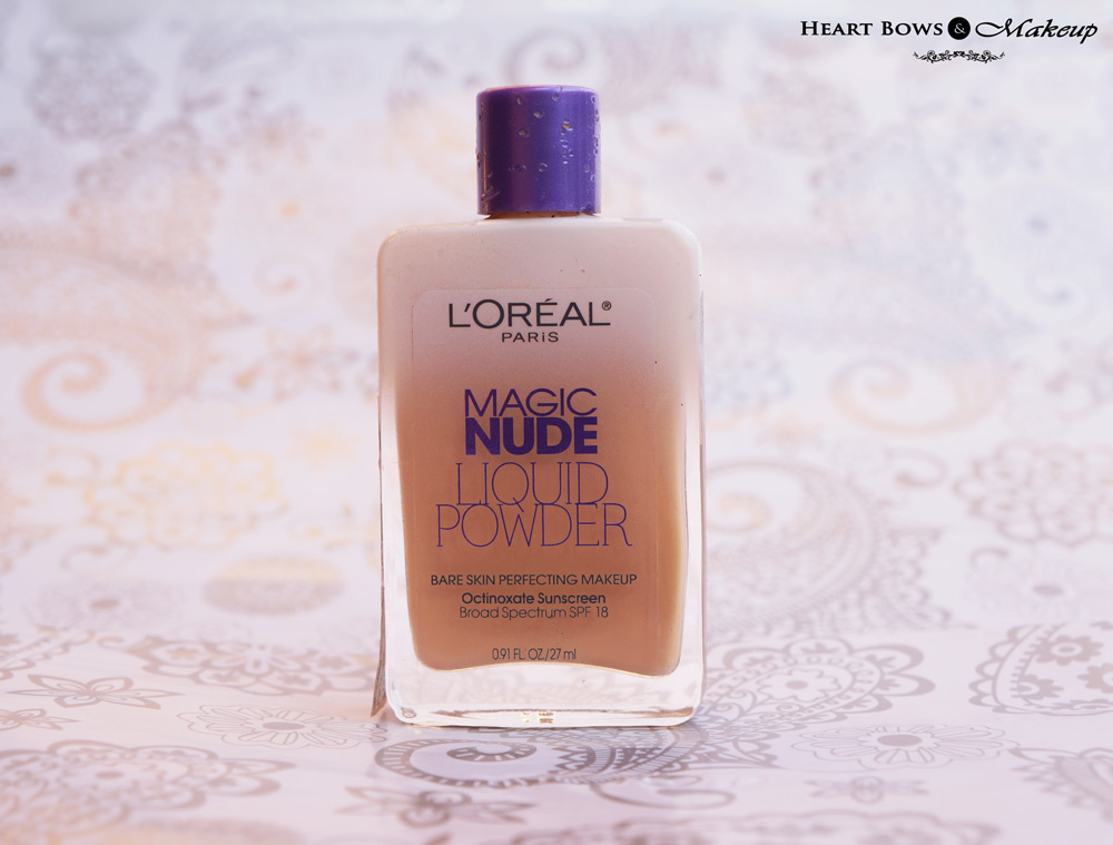 L'Oreal Paris Magic Nude Liquid Powder Foundation 320 Natural Beige Review, Swatches, Price & Buy Online India