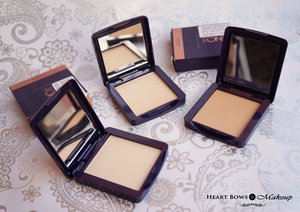 Oriflame The ONE Illuskin Powder Review, Swatches & Shades