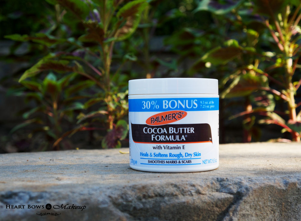 Palmer's Cocoa Butter Formula Jar Review, Price & Buy Online India : Best Body Butter For Winters!
