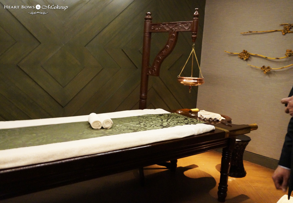 Shirodhara Therapy at Quan Spa, JW Marriott Delhi