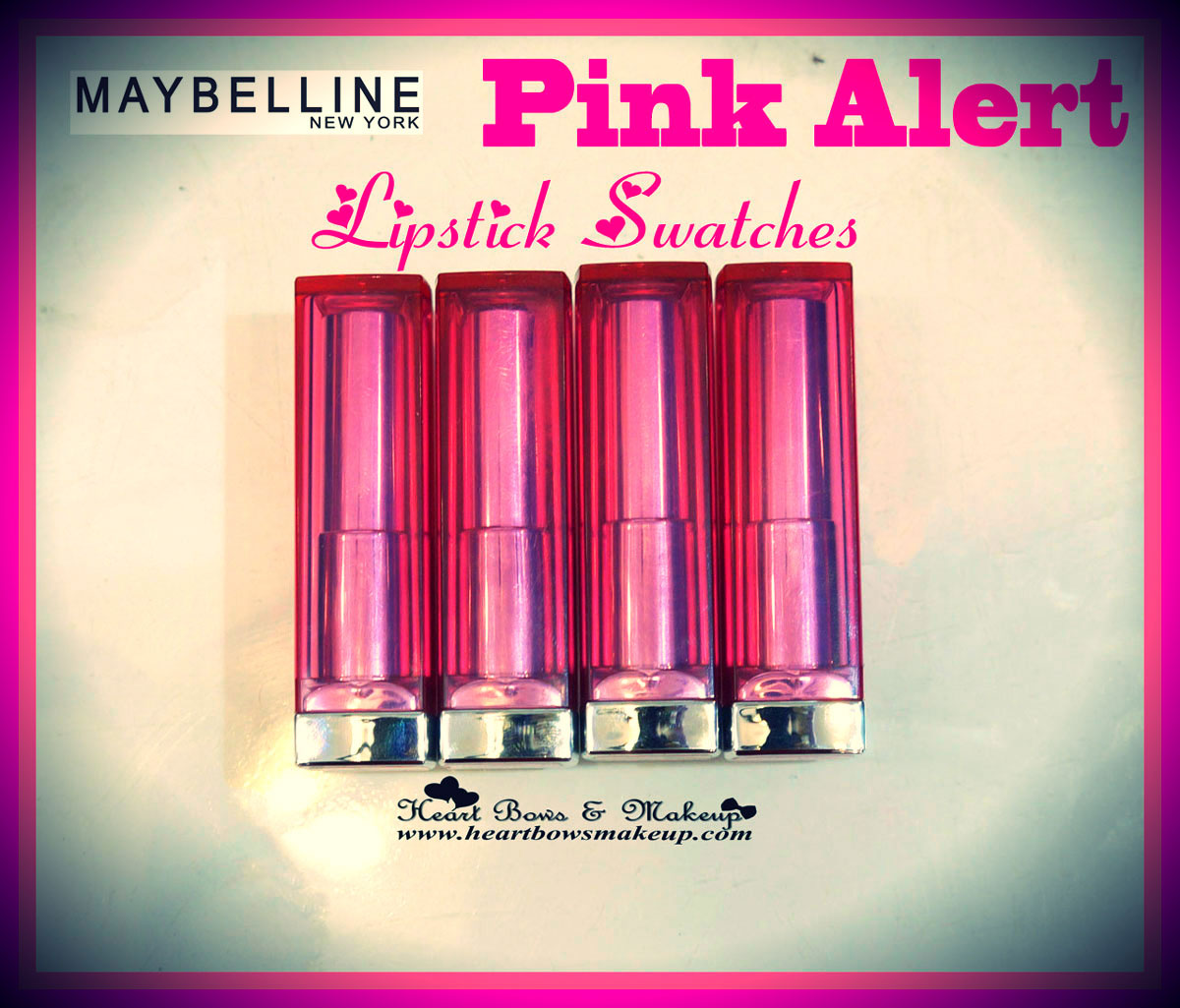 Best Makeup Launches of 2014: Maybelline Pink Alert POW Lipsticks