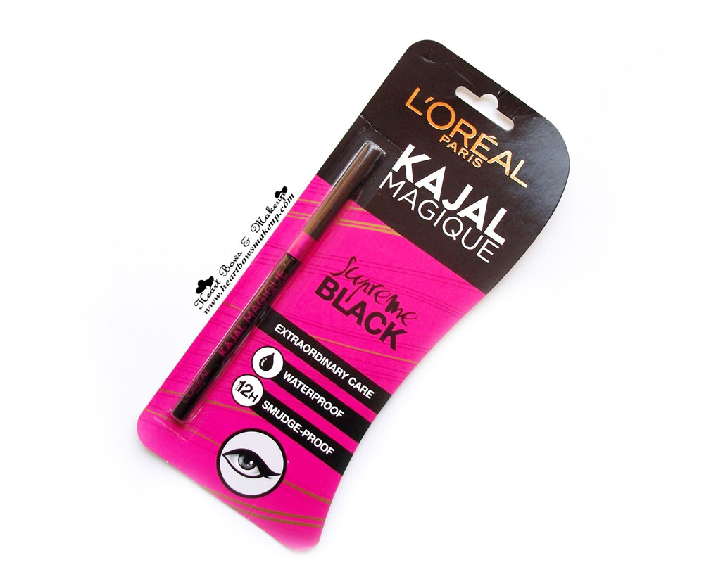 Best Smudgeproof Kohl India: L'Oreal Magique Kajal