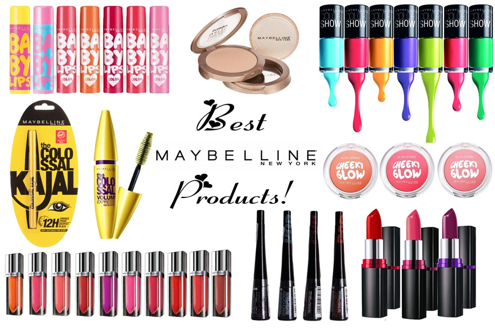 Best Maybelline Products- Top 10!