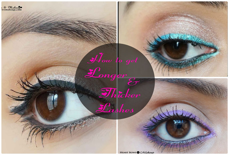 How to take care of eyelashes & grow them longer
