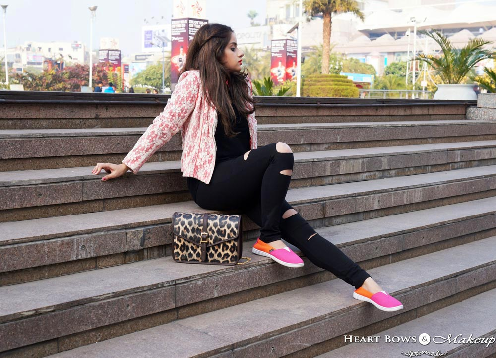 Indian Fashion Blogger: Dressing up Grunge in style. Winter OOTD