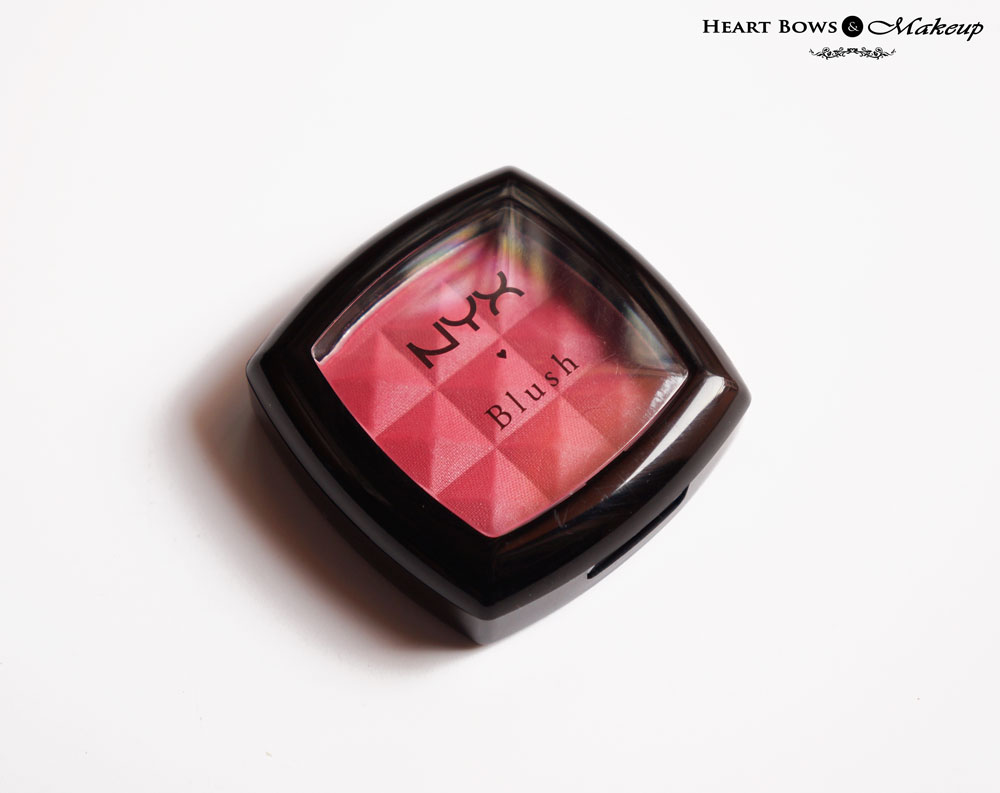 NYX Powder Blush Desert Rose Review, Swatches, Price & Buy Online in India