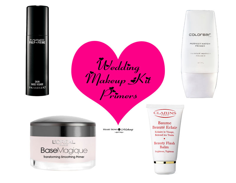 Wedding Makeup Kit Products: Best Primers in India