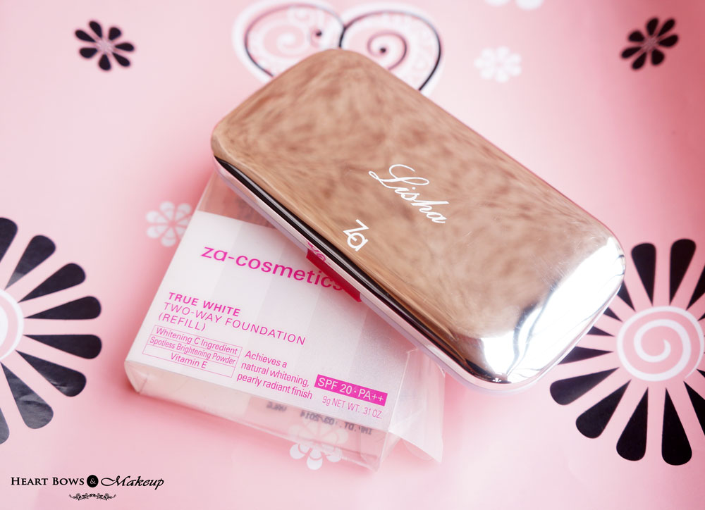 ZA True White Two Way Foundation Review, Swatches, Price & Buy Online India