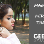 Hair Coloring & Keratin Treatment Review at Geetanjali Salons, Delhi