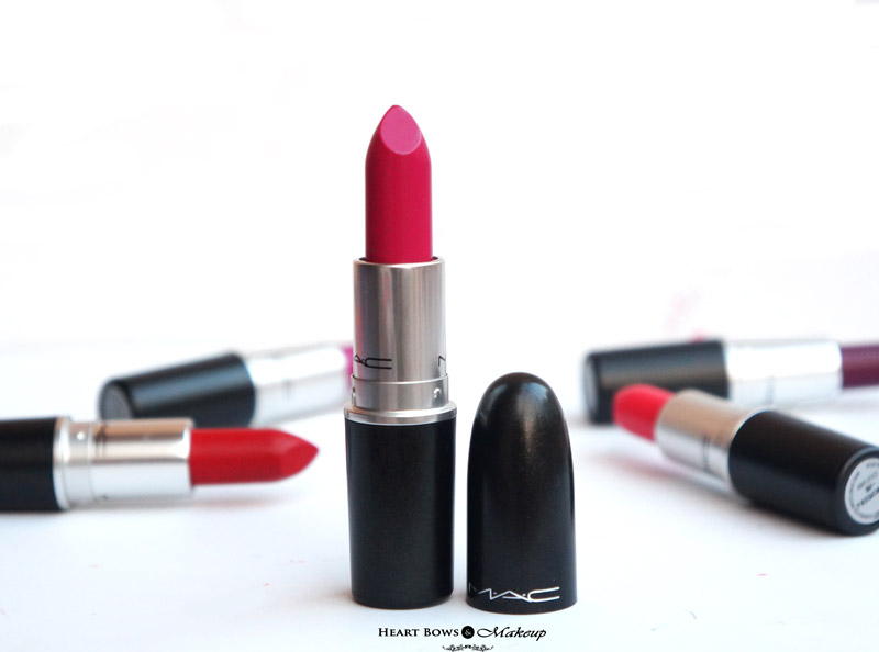 Best MAC Pink Lipstick: Girl About Town