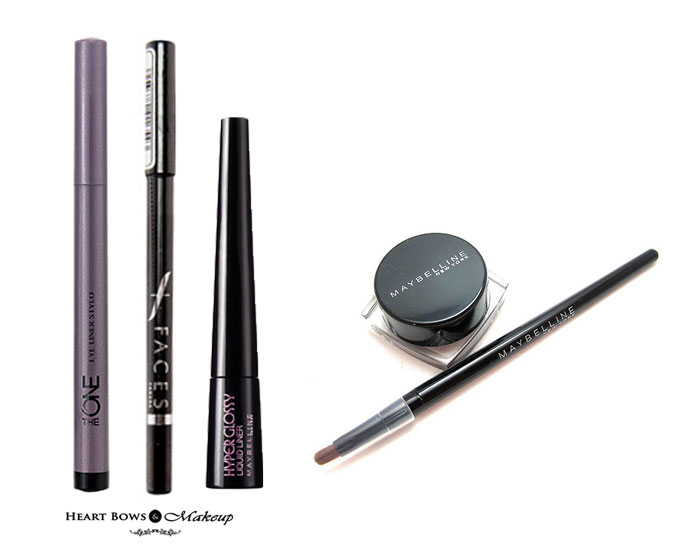 Bridal Makeup Trousseau Products: Best Eyeliners in India