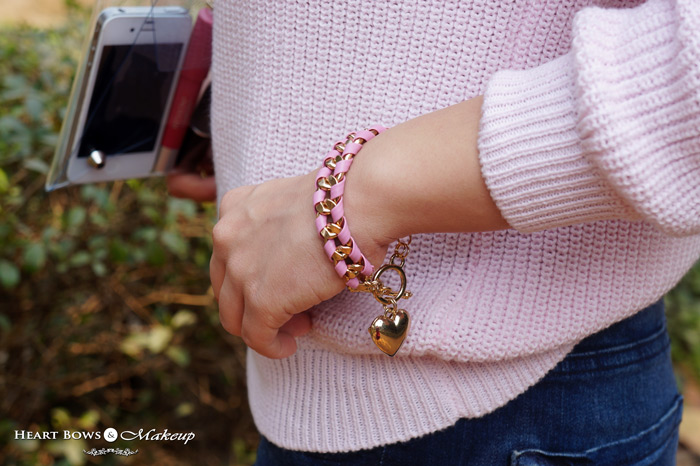 Pretty Pink Arm Candy By Zotiqq