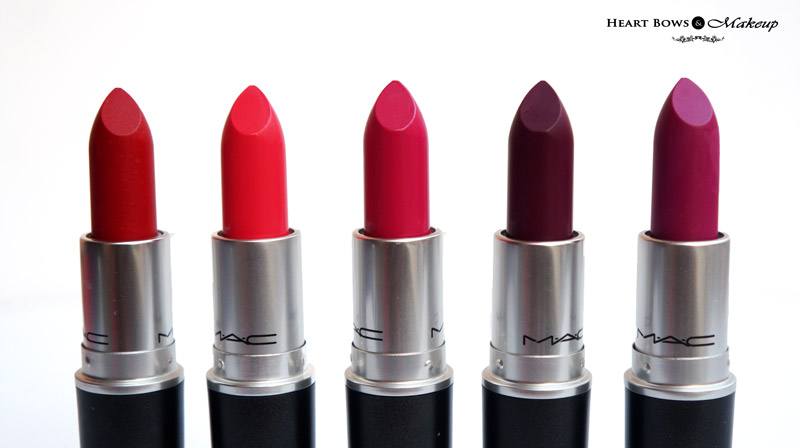 Top MAC Lipsticks For Indian & Olive Skintone