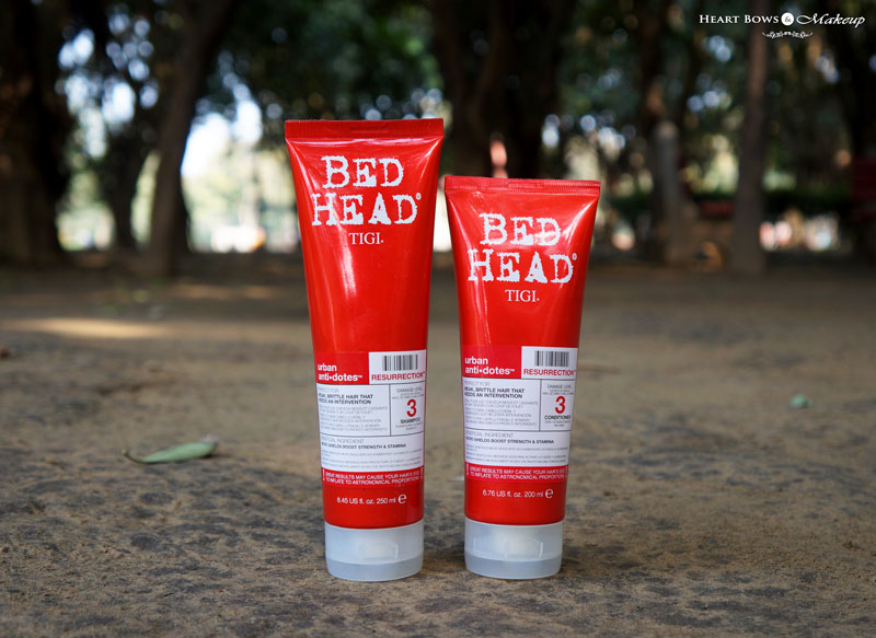 Tigi Bed Head Urban Anti Dotes Resurrection Shampoo Conditioner Review