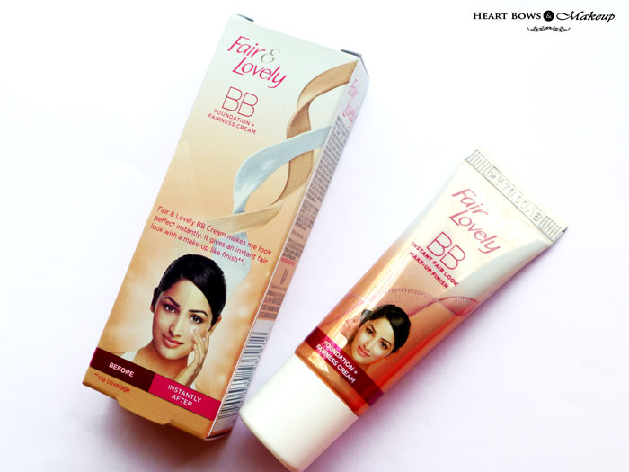 Fair Lovely Bb Cream Review Swatches