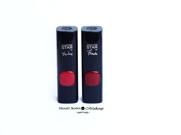 L'Oreal Collection Star Pure Scarleto Pure Rouge Lipstick Review Swatches Price Buy India