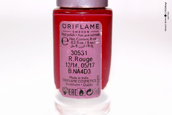 Oriflame Ruby Rouge Review