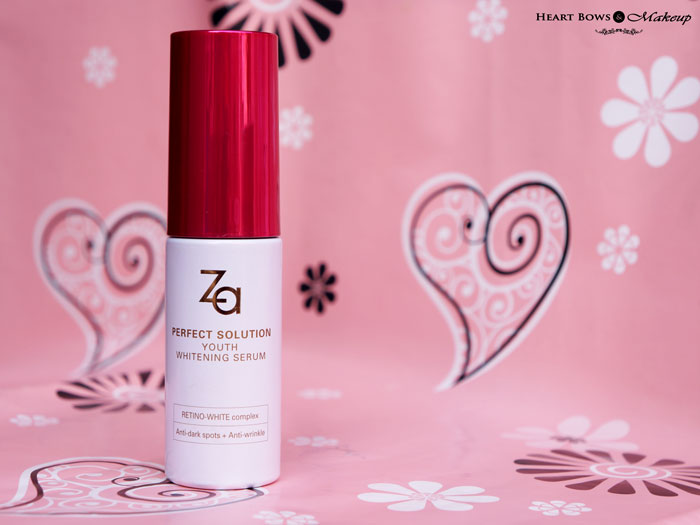 ZA-Perfect-Solution-Youth-Whitening-Serum-Review-Price-Buy-Online-India