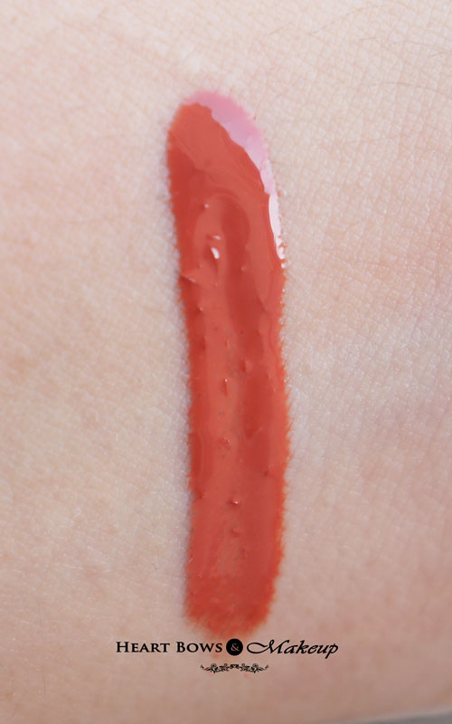 Colorbar Sheer Glass Lipgloss Brown Sheen Swatches Review